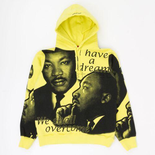 MLK Hooded Sweatshirt - Yellow