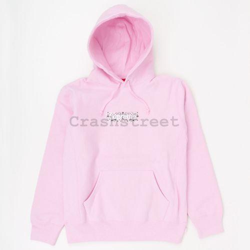 Bandana Box Logo Hooded Sweatshirt - Pink