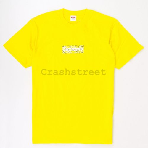 Bandana Box Logo Tee - Yellow