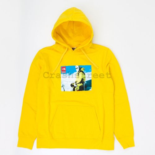 The North Face Photo Hooded Sweatshirt - Gold