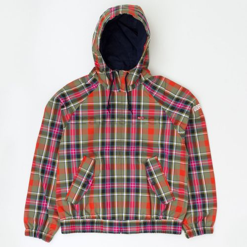GORE-TEX Hooded Harrington Jacket - Plaid