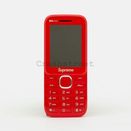 Supreme Blu Burner Phone - Red