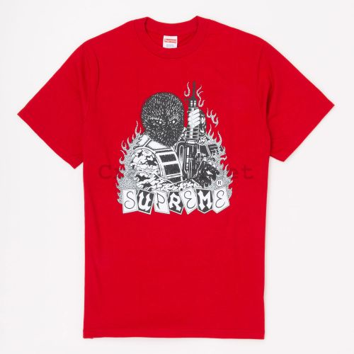 Mercenary Tee - Red