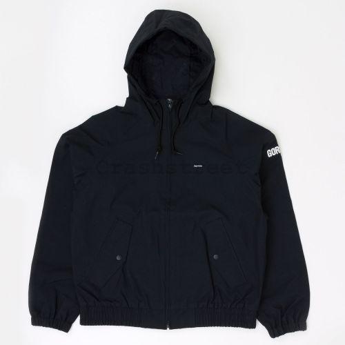 GORE-TEX Hooded Harrington Jacket - Black
