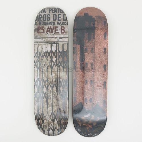 Martin Wong Big Heat & Iglesia Pentecostal Skateboard (Set Of 2)