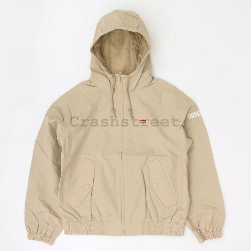 GORE-TEX Hooded Harrington Jacket - Beige