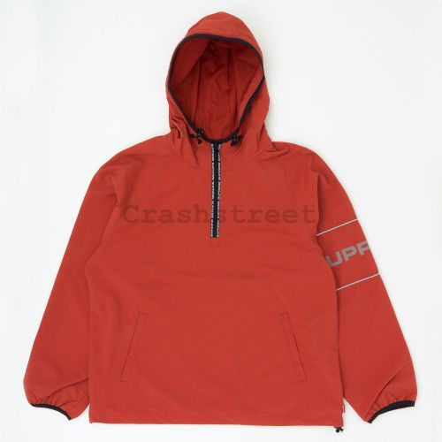 Ripstop Hooded Pullover - Rust