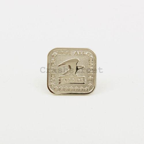 Pledge Allegiance Pin - Silver