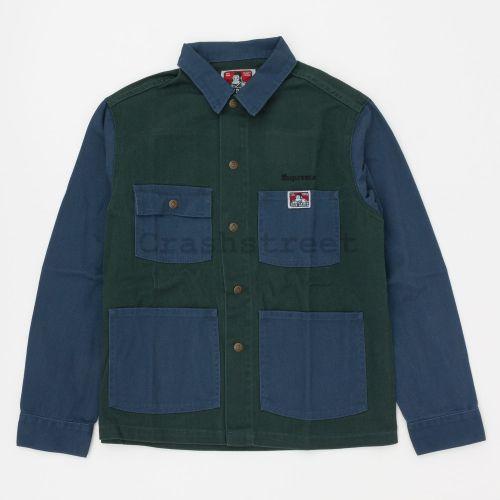Supreme Ben Davis Chore Coat - Navy