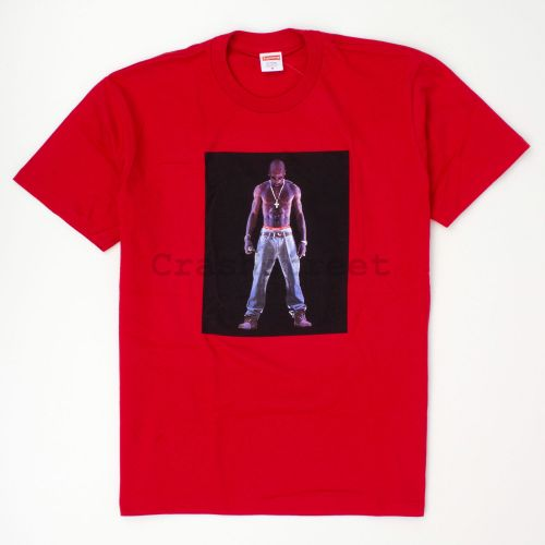 Tupac Hologram Tee - Red