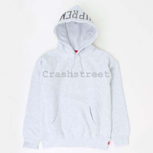 Sequin Arc Hooded Sweatshirt - Grey