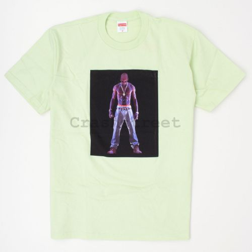 Tupac Hologram Tee - Pale Mint