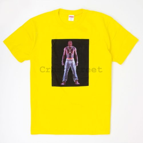 Tupac Hologram Tee - Yellow