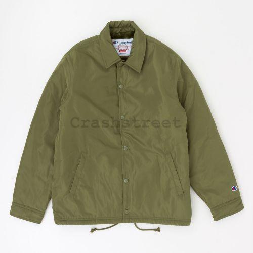 Champion Label Coaches Jacket - Olive