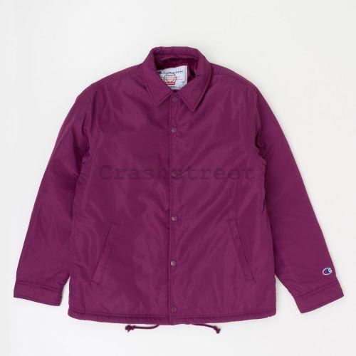 Champion Label Coaches Jacket - Purple