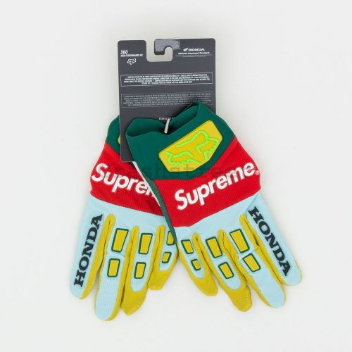 Honda Fox Racing Gloves - Moss